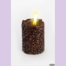 Свеча-эко   COFFEE   ручной работы TM Aromatte