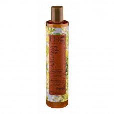 Восстанавливающий шампунь для волос  ГЛУБОКОЕ ПИТАНИЕ И БЛЕСК  для сильно поврежденных и окрашенных волос , ARGANA SPA  350ml EcoLab