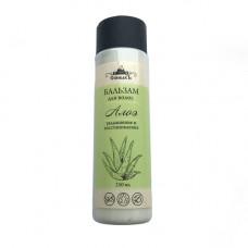 Бальзам для волос  АЛОЭ   увлажнение и восстановление   250 ml СпивакЪ