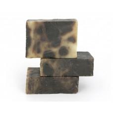 Натуральное мыло ручной работы  ДЕГТЯРНОЕ  против прыщей, угревой сыпи, помогает от псориаза, экземы, нейродермита, себореи, кожного зуда  100g СпивакЪ